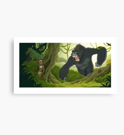 Mad Jungle Canvas Print