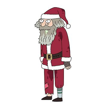 Homeless Santa by joeredbubble