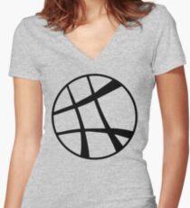 Dr. Strange's Sanctum Sanctorum Women's Fitted V-Neck T-Shirt