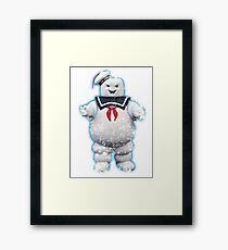 Vintage Stay Puft Marshmallow Man Framed Print