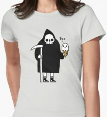 Spooky Ice Cream Cone Women's Fitted T-Shirt