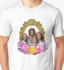 Bee Gees framed with flowers Unisex T-Shirt