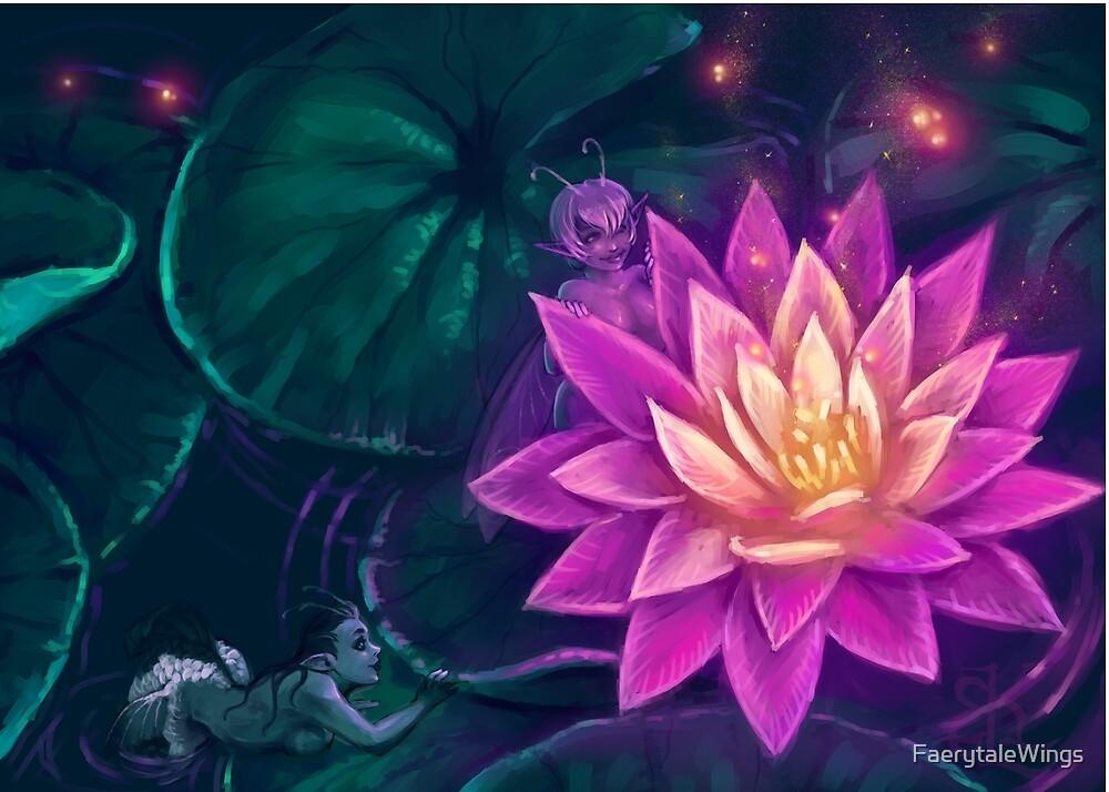 Lotus Fairies by FaerytaleWings