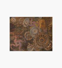 Changing Gear - Steampunk Gears & Cogs Art Board