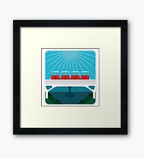 People Mover Framed Print