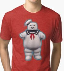 Stay Puft Marshmallow Man Tri-blend T-Shirt