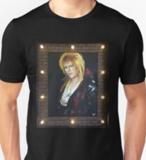 Goblin King Portrait Unisex T-Shirt
