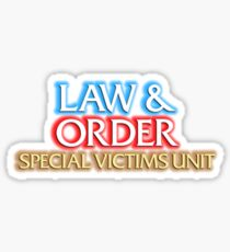 Law And Order: Special Victims Unit Sticker