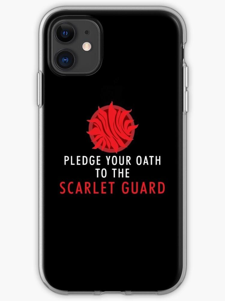 Red Scarlett iphone 11 case