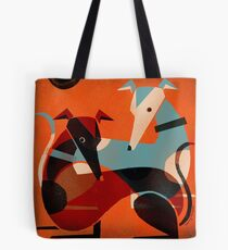 GREYHOUND PAIR Tote Bag