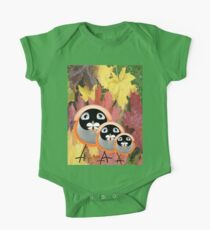 Mr Bird, Mrs Bird & Baby Bird T-Shirt One Piece - Short Sleeve