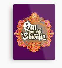 Om namah Shivaya  Metal Print