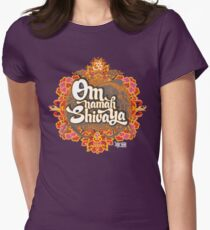 Om namah Shivaya  Women's Fitted T-Shirt