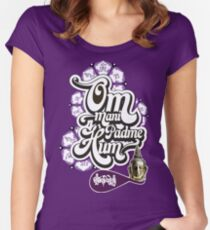 Om Mani Padme Hum Women's Fitted Scoop T-Shirt