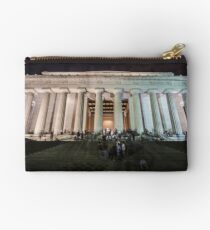 Lincoln memorial in the evening Studio Pouch