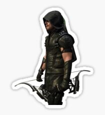 Arrow CW - Green Arrow (left) Sticker