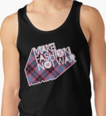 MAKE FASHION NOT WAR Tank Top
