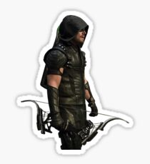 Arrow CW - Green Arrow (right) Sticker