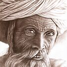 Man from Rajasthan by Nicole Zeug