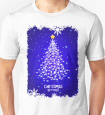 CHRISTMAS TREE with STAR Unisex T-Shirt