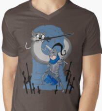 Adventure Souls Men's V-Neck T-Shirt