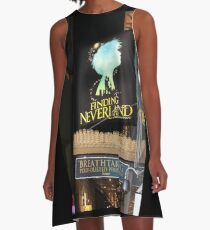 NYC Finding Neverland Broadway A-Line Dress