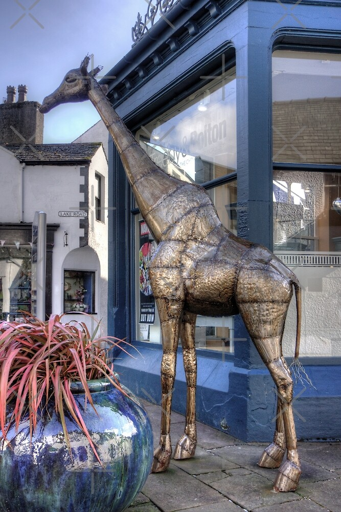 The Keswick Giraffe by Tom Gomez
