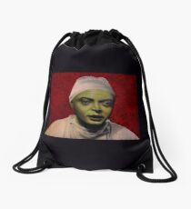 The Mad Doctor Drawstring Bag