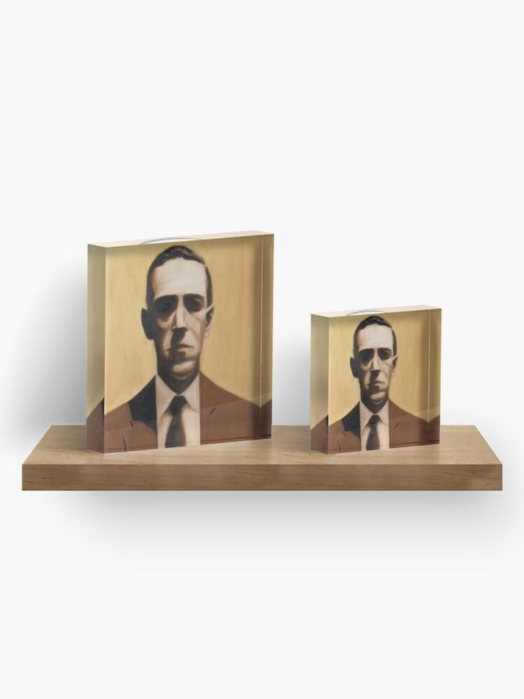 Alternate view of HP Lovecraft Acrylic Block
