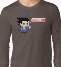 Objection 8 bits Long Sleeve T-Shirt