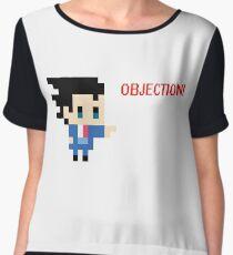 Objection 8 bits Chiffon Top