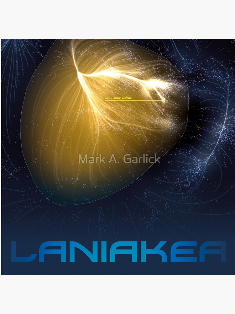 Laniakea - You Are Here - Version 2 by magarlick