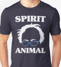 Bernie Sanders Is My Spirit Animal - Glasses Face Unisex T-Shirt