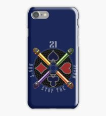 21 - Don't Stop the Music iPhone Case/Skin
