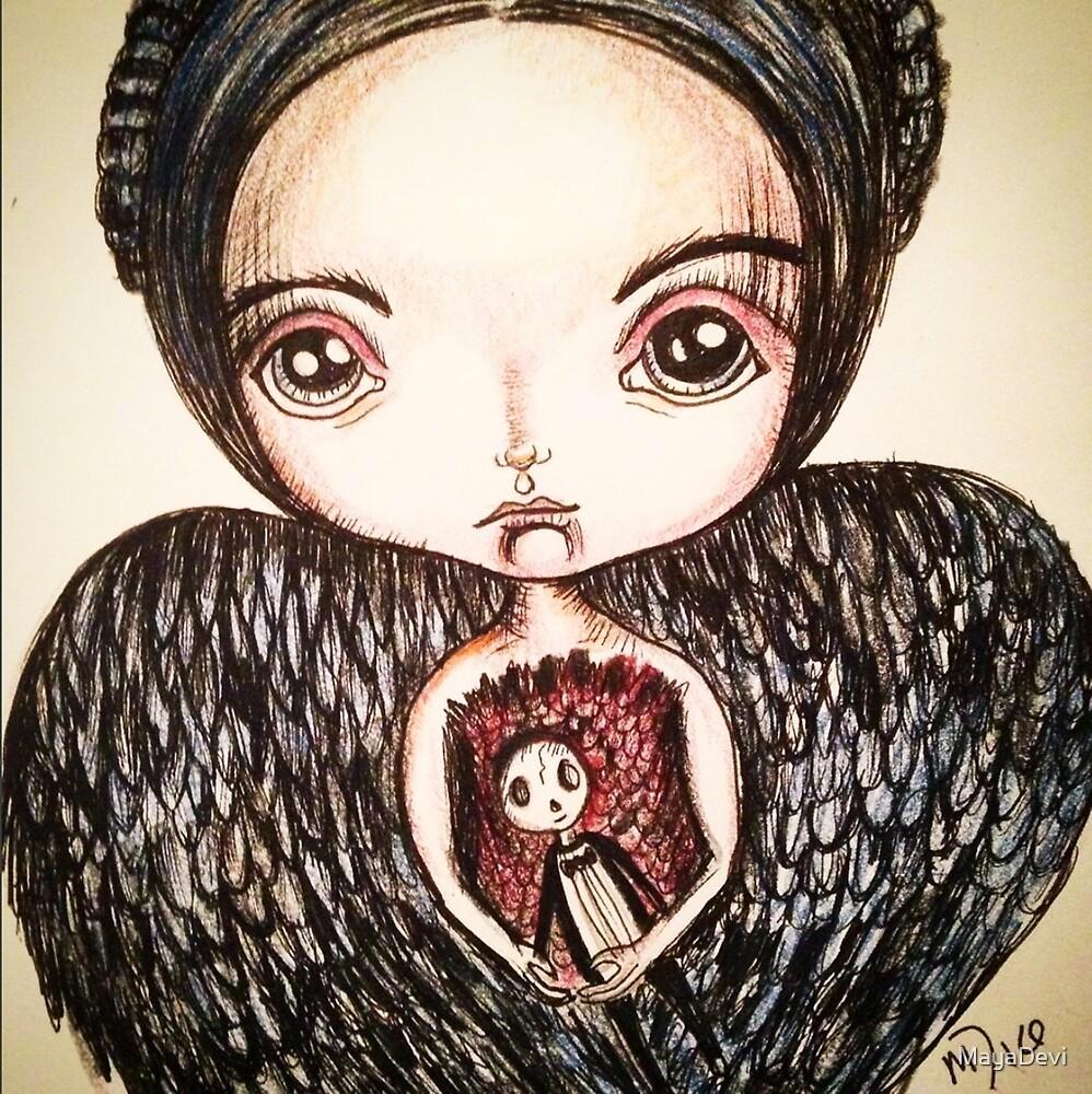 Dark Angel by MayaDevi