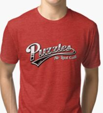 Puzzles Bar - How I Met Your Mother Tri-blend T-Shirt