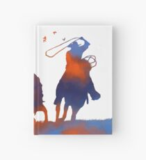 Abstract Cowboys Hardcover Journal