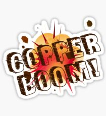 Gilmore Girls - Copper Boom! Sticker