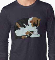 Cozy Calico Long Sleeve T-Shirt