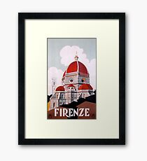 Firenze/Florence, Italy  Framed Print