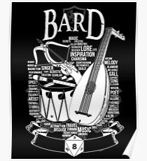 RPG Class Series: Bard - White Version Poster