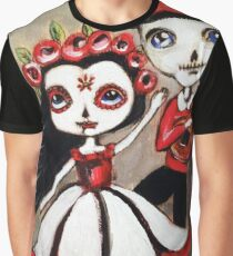 Day of the dead couple Graphic T-Shirt