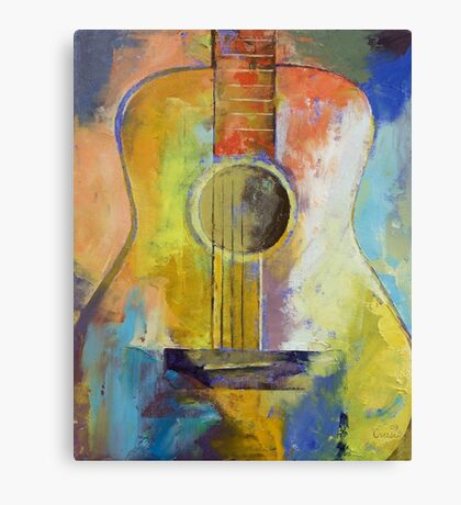 Guitar Melodies Canvas Print