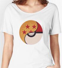 Pokemon Dragon Ball Fusion  Women's Relaxed Fit T-Shirt