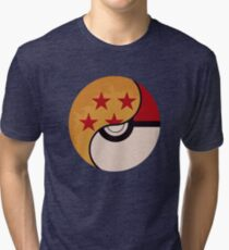 Pokemon Dragon Ball Fusion  Tri-blend T-Shirt