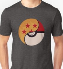 Pokemon Dragon Ball Fusion Slim Fit T-Shirt