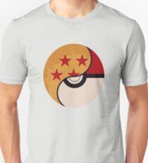 Pokemon Dragon Ball Fusion  Unisex T-Shirt