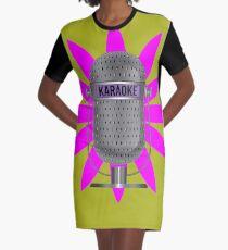 Karaoke Phone Graphic T-Shirt Dress