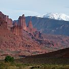 Fisher Towers and La Sals by Eivor Kuchta