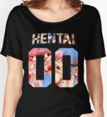 Hentai 00 Longsleeve T-shirts coupe relax
